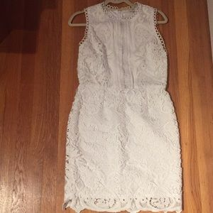 White River Island Crochet and Lace Dress